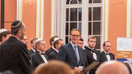 Regierender Bürgermeister bei einem Konzert des Louis Lewandowski Festival