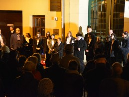 80 Jahre Reichspogromnacht Gedenken in Berlin Köpenick